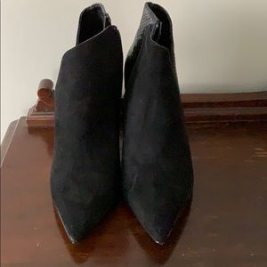 Black Booties from Express
